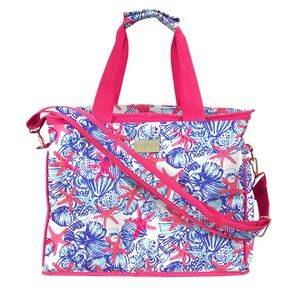NWT Lilly Pulitzer Insulated Cooler She She Shells